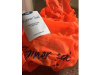 Zoggs trainer swim baby seat used once