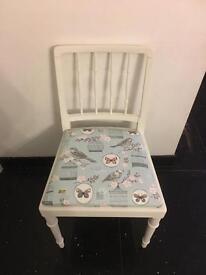 Shabby chic birdcage chair