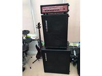 TC electronic BH500 / BC212 / BC410 bass Amp Stack