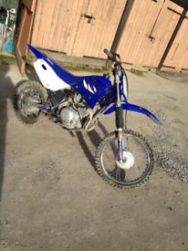 Yamaha 125 cc Motorcross /Dirt bike 4 stroke