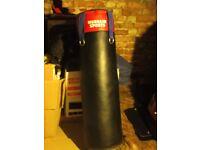 Full length (4ft) Murrain Sports Punch/kick bag. Never been used.
