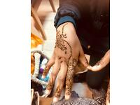 arabic henna+ white henna starting offer £3