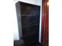 Black bookcase - collection only
