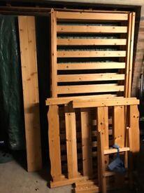 Pine children's bunk bed - John Lewis