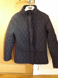 Black Quilted Jacket Size 12