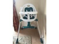 Mamas and Papas high chair - HOUSE CLEARANCE