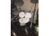 Electric drum kit for sale. Impulse buy. Rarely used