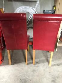 Dining Chairs for recovering