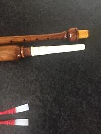 PRACTICE CHANTER IN ROSE WOOD COLOUR