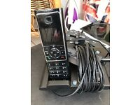 BT Verve Single handset and answering machine