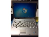 """DELL INSPIRON 1520 intel celeron 540 @ 1.80ghz (4gb,80gb) 15"""" screen with out camera"""