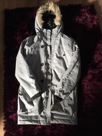 Mans grey padded coat size S