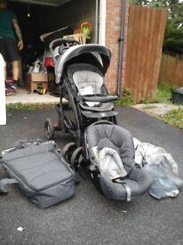 Buggy pram mother care car seat