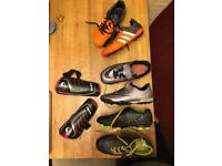 Kids Football Boots - Size 1 and 1.5
