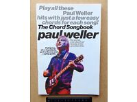 The Chord Songbook: PAUL WELLER (20 Songs & words simply arranged to get you playing straight away.)