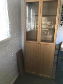 Ikea Light Brown Bookcase