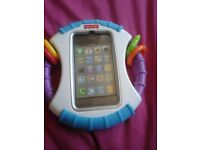 Fisherprice toy which holds iphone