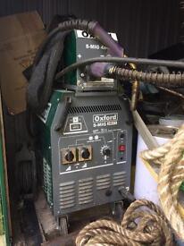 Mig welder (Oxford 330 single phase)