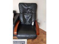 Black massage Chair £30