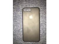 iPhone 7 Plus official Apple case black silicon