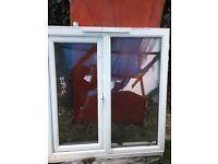Double glaze window and front door