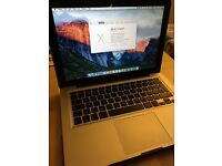 MacBook Pro 13-inch, Mid 2012, fully working, excellent condition