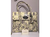 Mulberry Leopard Print Bayswater Handbag, Excellent Condition