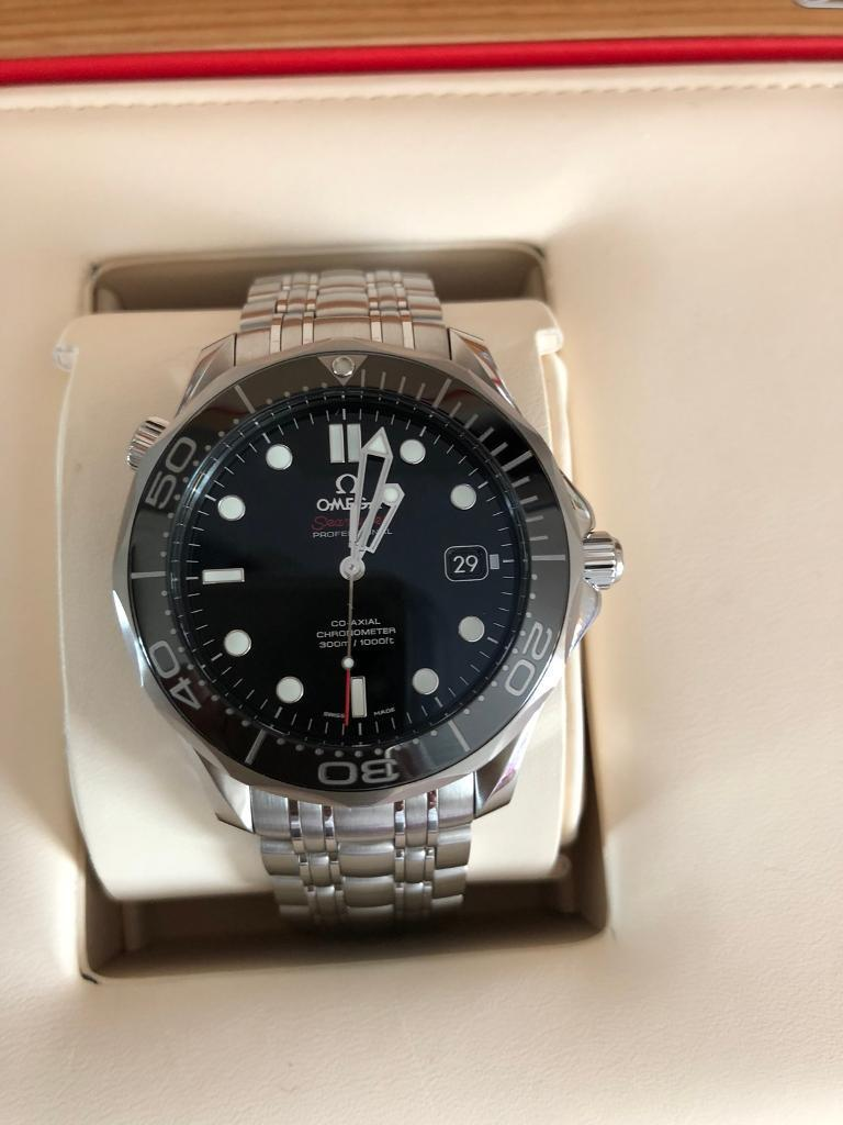 Omega Seamaster Professional Diver 300m Black 41mm New In