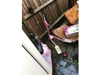 Girls flicker scooter pink good condition