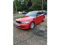 BMW 1 Series red