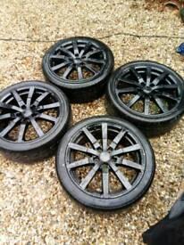 "Ford alloys 18"" 5 stud"
