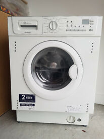 Electrolux built in washer dryer EWX147410W - 7kg wash spin 1400 - came with new build/not required