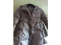 3-4 years, girl, winter jacket, United Colours of Beneton