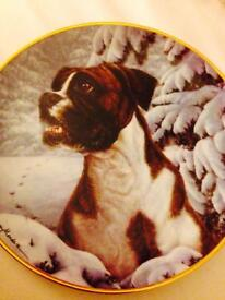 Danbury Mint Certified Collector Boxer Plates
