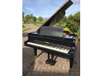 Black baby grand piano   Hofmann   Belfast Pianos 