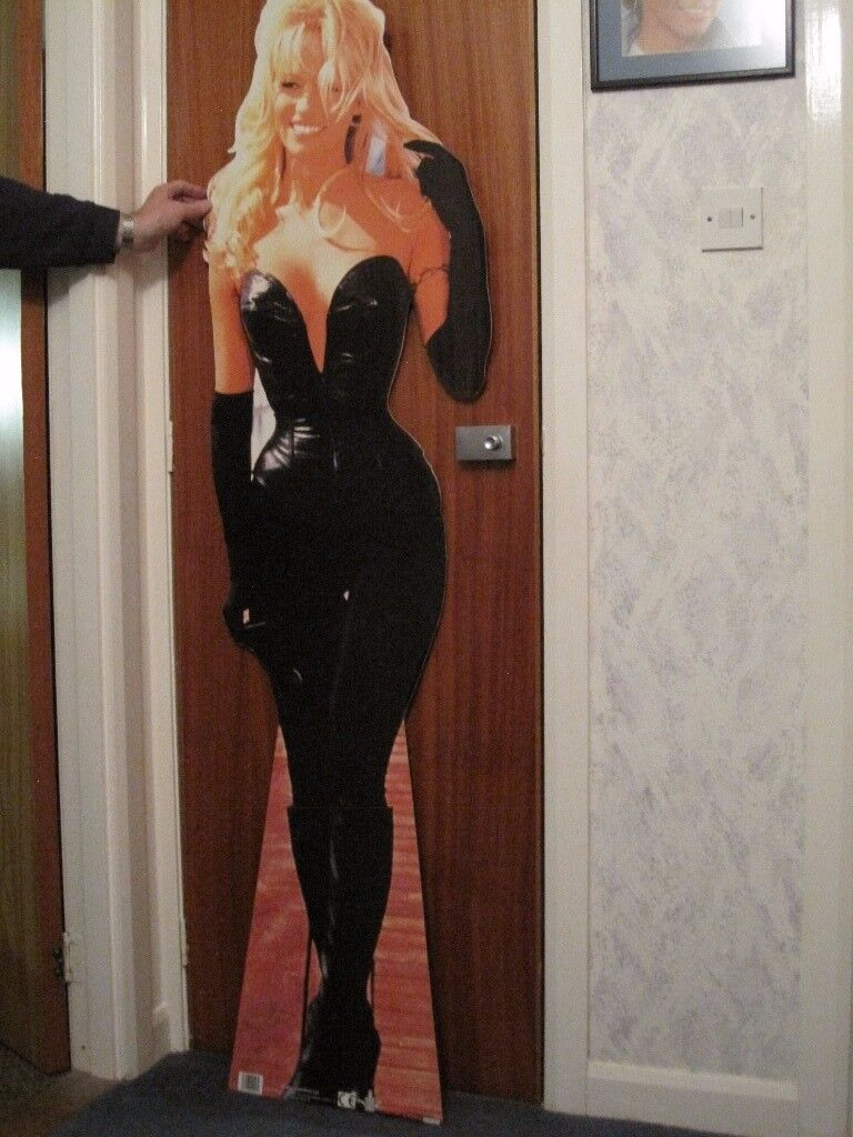 PAMELA ANDERSON (BARB WIRE) STANDEE BY THE CHARACTER CUT OUT COMPANY - NEW