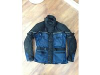 Hein Gericke Gortex Fabric Motorcycle Jacket Size small mens - £40