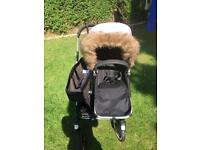 Bugaboo donkey duo with extras