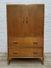 Vintage Linen Cabinet For Upcycling (DELIVERY AVAILABLE)