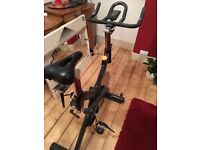 Spin spinning exercise bike bicycle