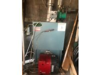 Oil fired central heating boiler and burner *condensing*