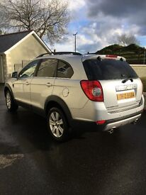 Immaculate 2010 full leather 7 seater Chevrolet Captiva LTX