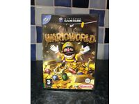 Wario World Nintendo GameCube Game - With Manual