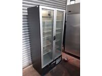Infrico ZX2S0 Upright Back Bar double door Cooler, FRIDGE