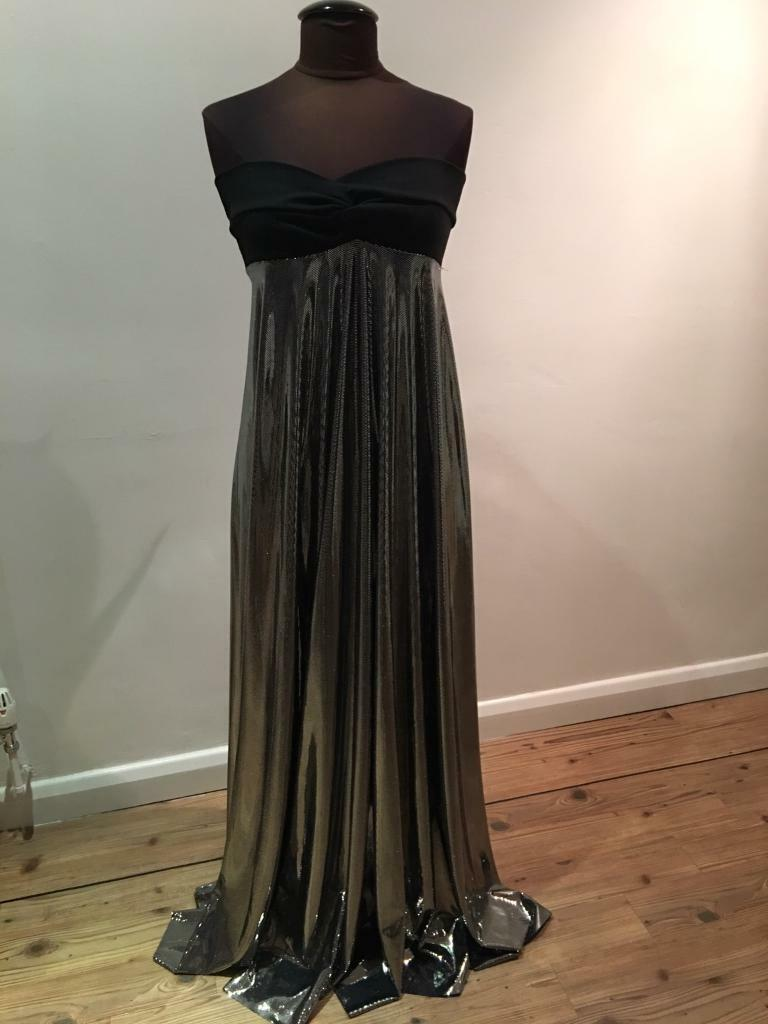 Evening dress(Aquacouturein Ferndown, DorsetGumtree - Evening dress(Brand new), size 10 Mirror Maxi dress. Paid £110, will accept £35.00. Collection only