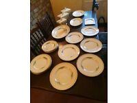 1920's Clarice Cliff Dinner set ,28 items