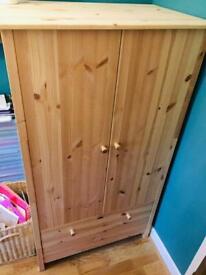 Lovely pine wardrobe / cabinet/ cupboard