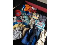 Baby boys 6-9 months clothes bundle