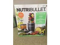 NutriBullet 12 piece set 600w - excellent condition as hardly use