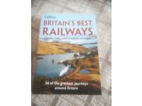 BRITAIN'S BEST RAILWays-JULIAN HOLLAND AND DAVID SPAVEN, PAPERBACK £5.
